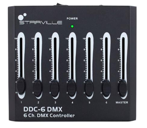Contrôleur DMX 6 canaux