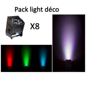 Pack light déco