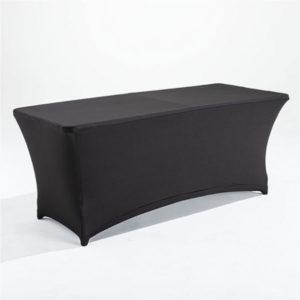 Table rectangulaire traiteur housse